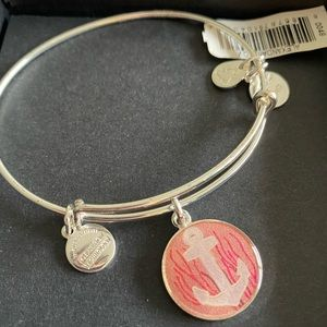Alex & Ani Anchor Art Infusion Silver Bracelet